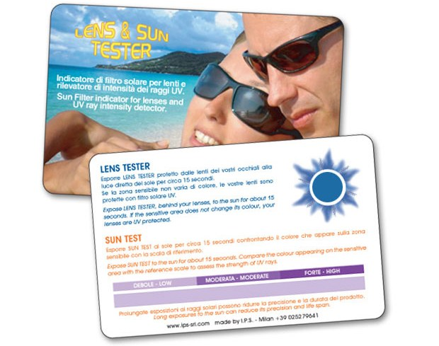 eyes protection card