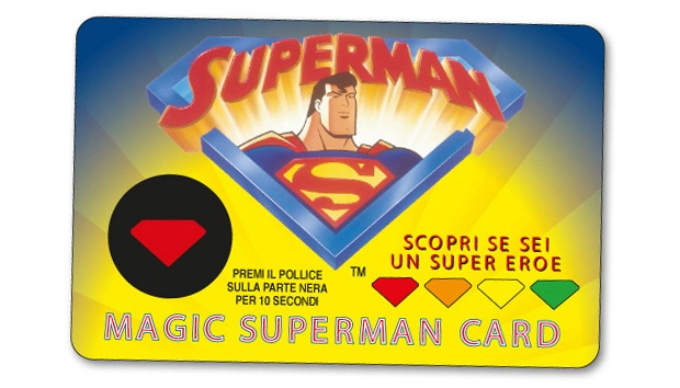 Magic superman card