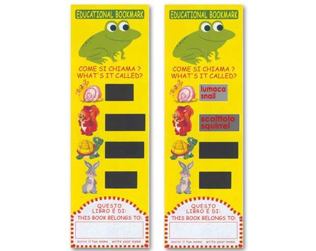 Educational bookmark