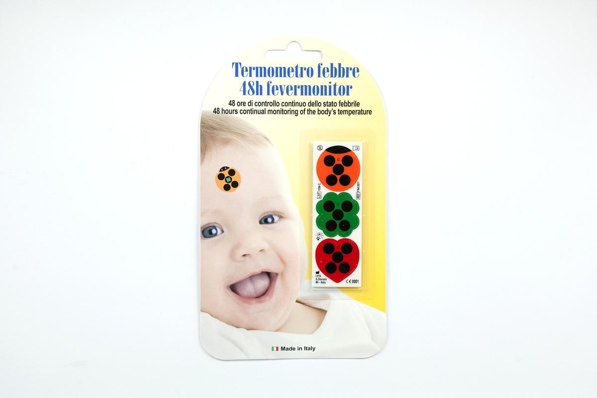 Termometri per la febbre a cristalli liquidi