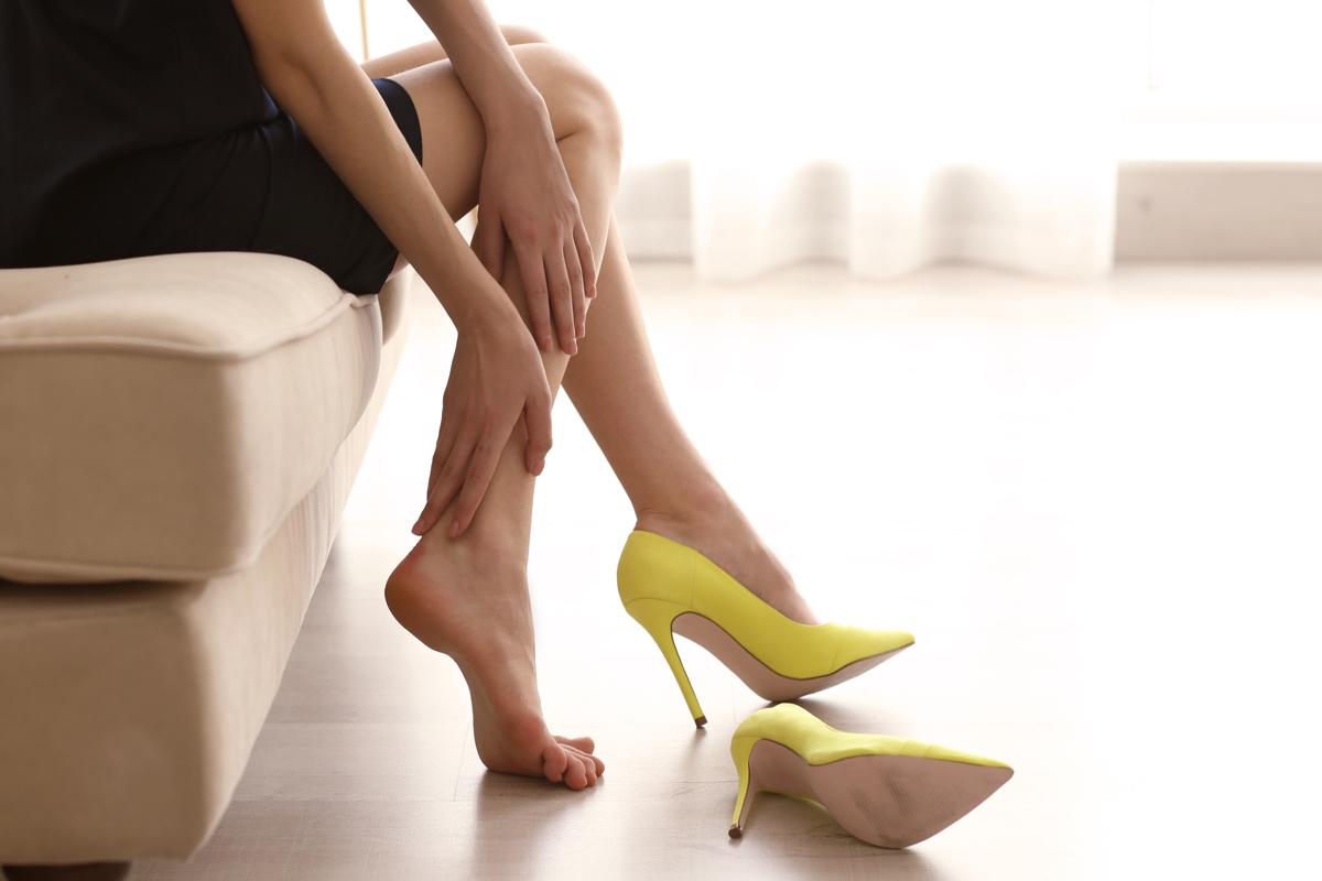 Cellulite e calzature